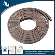 With mucilage glue flexible sheet rubber magnet