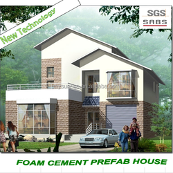 Prefab home easy install and low cost 4 bedroom prefabricated house