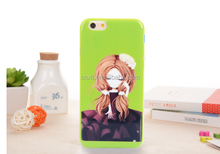 china hot cell phone accessories IMD tpu case for printing custom cell phone cover for iphone 6