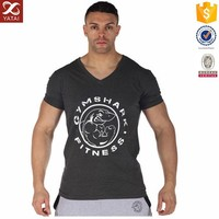 Hot Sale High Quality Slim Fit Gym T-shirt for Man