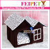 Soft fabric dog house wholesale pet house products