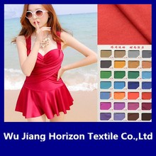 knitted fabric 80% nylon and 20% spandex for swimwear