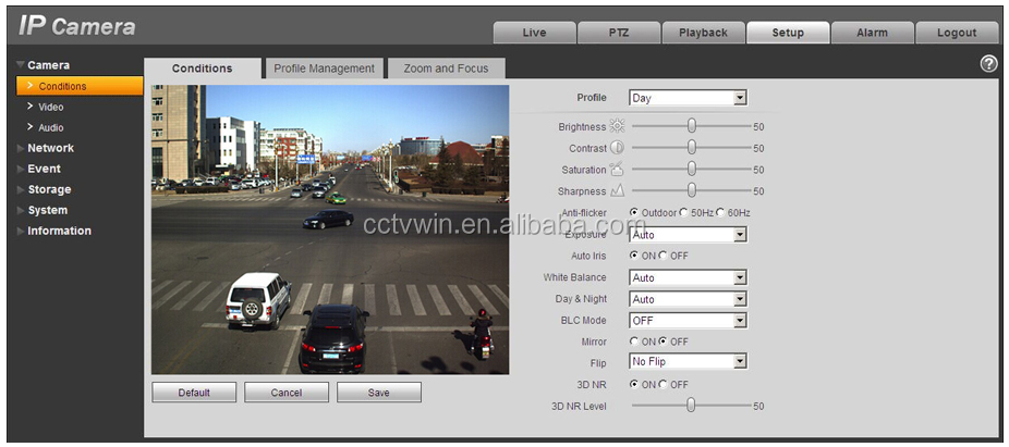 Dahua Ipc Hfw8301e 3mp Wdr 1080p H 264 Onvif Face And