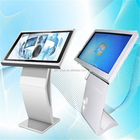 hot sale new design lcd advertising display touch screen kiosk