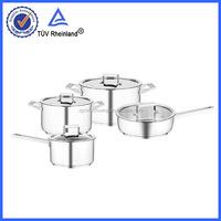 encapsuled bottom stainless steel copper bottom stainless steel fry pan