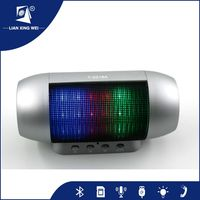 Professional Music LED Light 1200mAh Wireless microphone portable wireless amplifier speaker