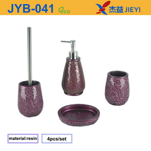 2015 wholesale bathroom fitting, broken glass design bathroom accessory