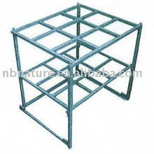 Warehouse stackable storage powder coating steel pallet shelf rack