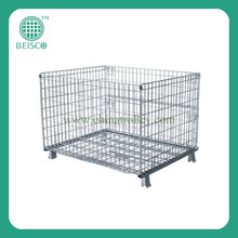 Popular folding steel storage cage low price