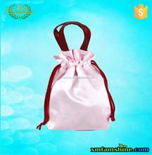 customized velvet ring bag /velvet drawstring bag/velvet pouch bag