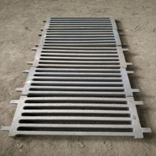 Hardness HB325-375 Cr -Mo Alloy Steel 1.5''Grizzly Screen-5 Slots