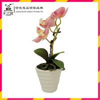 Small stripes Melamine flower pot MX1206 from direct manufacturer