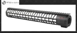 Vector Optics KeyMod 15 Inch Free Float One Piece Handguard Rail Mount System BLACK fit M series Platform Rifles