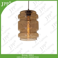 Hot Sale modern design contemporary Glass Pendant Light with smoke,clear,blue,red,amber colors