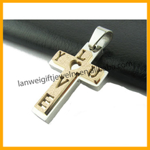 Hot New Products Fashion Jewelry Stainless Steel Pendants Cross
