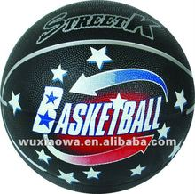 official size and weight game sports rubber basketball/basketball/factory