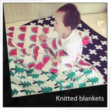 Fashion Crochet Knit Baby Blanket