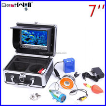 HD 800 TVL Ice Fishing Camera underwater fishing camera fish finder camera CR110-7LS with SUN-VISOR 15-80m strong cable