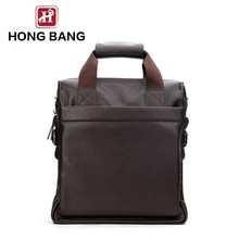 Gents PU leather message bag mens faux crossbody message bag