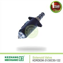 YN35V00048F1 KDRDE5K-31/30C50-122 Industrial solenoid valve hydraulic for excavator SK200-8/SK200-6E pilot valves KZ brand