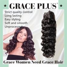 Virgin unprocessed human hair deep wave malaysian remy hair