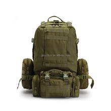 outdoor camping detachable spot backpack bag,military hiking camouflage bag, big capacity waterproof travel oxford bag