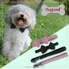 Trade Assurance DogLemi Polka Dots Pet Dog Cat Puppy Collar Fashion Dog Collar Leash Dogs and Puppies for Sale