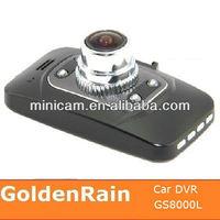 "Ambarella GS8000 1080P Full HD dash camera with gps g-sensor Night Vision Wide Angle HDMI 2.7"" LCD"