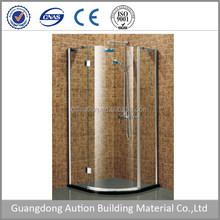 Big Sector Bathroom Shower Cabin with Frameless Tempered glass shower room shower enclosure