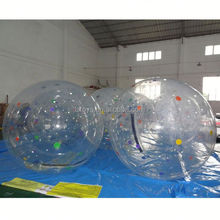 big ball on water , LZ-W281 customized colour inflatable water ball/water sports game for kids