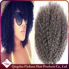Hot sell malaysian curly hair weave high quality afro kinky curly virgin malaysian hair extension tangle and shedding free
