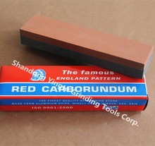8 inch aluminum oxide combination sharpening stone