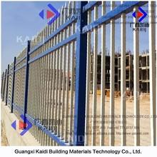 Powder Coated Hot Dip Galvanised Steel Industrial Fence Panel