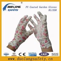pu coated work gloves manufacturer work glove en388 led work gloves