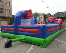 2015 new amusement inflatable soccer arena,inflatable football field