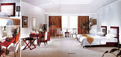 veneer bedroom furniture with upholstery headboard XYN966