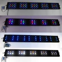 high output 20000k programmable led aquarium lights 1.5M for coral reef fish shop