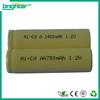 Hotsale nicd aa 700mah battery 9.6v for power tools