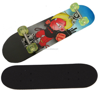 2406B-3UT5036A chinese maple wooden four wheel kid nice design mini skateboard