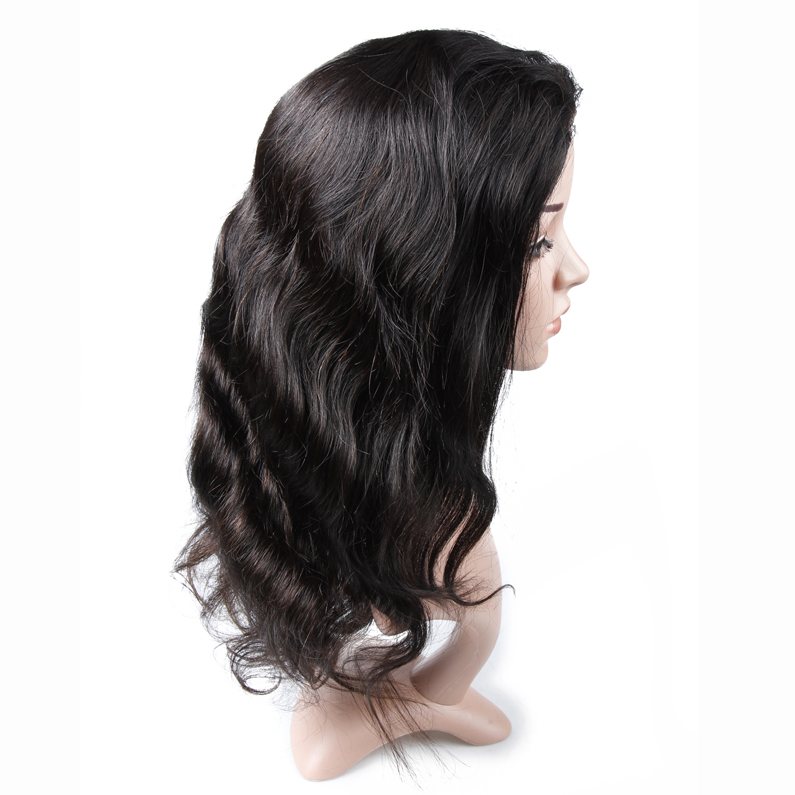Wholesale Human Hair Wet And Wavy Full Lace Wigs For Black