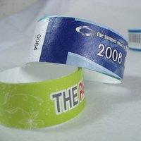 Tyvek bracelet full color printing
