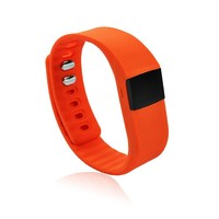 Colorful bracelet sleep monitor anti lost vibrating alarm smart wrist watch