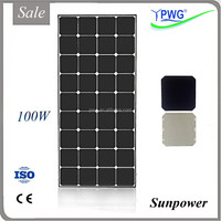 100W Sunpower Mono PV Solar Panel Kit on Sale, High Efficient and Good Quality with CE & ISO