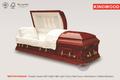 Weston Padauk estilo eua madeira caixão caixão de madeira preço