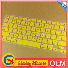Colorful most popular 2012 silicon rubber keyboard covers silicone