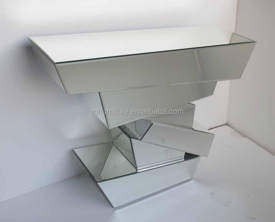mr-401009 블록 스타일의 사이드 테이블- 3D 거울 가구-커피 테이블 ...