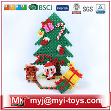 Direct selling educational plastic ironing beads 3d cartoon jigsaw puzzle AT12B