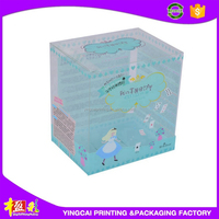 Popular Sale paper box with clear plastic cover with high quality