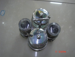 High quality stainless steel cruet set/oil and vinegar cruet with low price