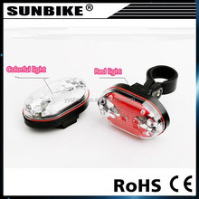 9 led high quality hot sale factory direct sale battery powered LED for bike